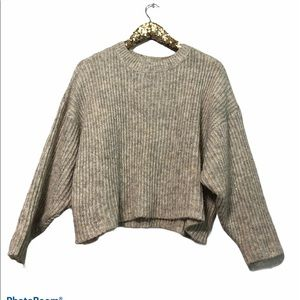 Topshop Crop Sweater Size 4/6